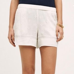 Anthro. Elevenses Costa Maya Embroidered Shorts(M)